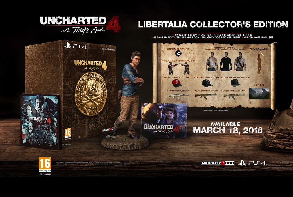 uncharted 4 collection ps4